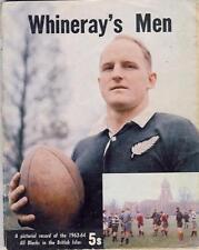 """Tutti neri per isole britanniche & Francia 1963/4 - """"whineray's Uomini"""" Rugby BLOCCHETTO"""