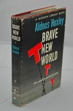 Aldous Huxley - SIGNED & Inscribed - Brave New World