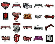 Metallica Slipknot Black Sabbath Ozzy Osbourne Iron Maiden Stones Iron on Patch