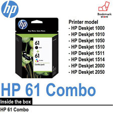 "New"" Genuine HP Ink Cartridge 61 Combo-pack (Black,Trico) CR311AA F/S from Japan"