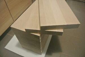 1st class beech wood stair treads-hardwood, 40mm thick(any thickness available)