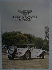 Panther brochure 1970's-J72,DeVille Saloon & Convertible,Panther Ferrari FF,NART