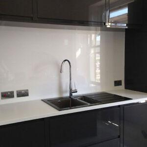Mirrored Acrylic Plastic Easy to Clean Splashback Kitchen Bathrooom Shower