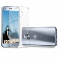 Custodia Cover Morbida Air Gel Slim Trasparente Anukku Per Motorola Moto X4
