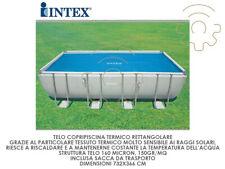 INTEX 29027 Tarpaulin Swimming Pool Cover Thermal Rectangular CM 716x346 160