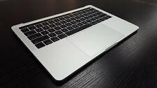 """A1706 Macbook Pro 13"""" 2016 TopCase Keyboard Battery A1819 Trackpad Silver GradeA"""