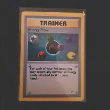 Gym Hero / Challange Pokemon Card Energy Flow Trainer