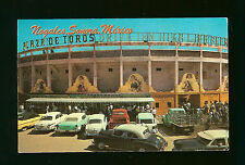 La Plaza de Toros - The Bull Ring - Nogales, Sonora, Mexico - Old Cars - 1962