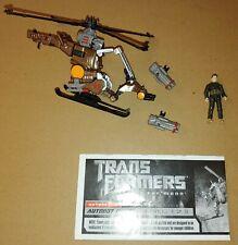 Transformers Whirl Major Sparkplug Dark of the Moon Mechtech