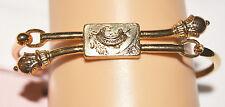 Juicy Couture Gold Tone Clasp Bracelet