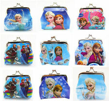 10PcsFrozen Coin Purse Girl Boy Kids Wallet Elsa Anna Party Favor Gift