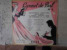 Various – Carnet De Bal N° 4 -  LP