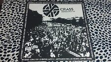CRASS DEMOS 1977-79 LP POSTER SLEEVE PUNK KBD RUDIMENTARY PENI AMEBIX PART 1