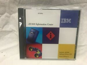 IBM AS/400 SOFTCOPY LIBRARY & INFORMATION CENTER Version 4 Release 4 Manuals CD