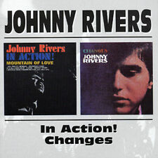 Johnny Rivers in Action!/Changes by Johnny Rivers (CD, Jun-1998, Beat Goes On)