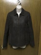 WILSON LEATHER BROWN JACKET size S Small Zip Out Thinsulate Ultra Lining NICE V7