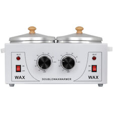 Pro Double Pot Wax Warmer Electric Heater Machine for Hair Removal or Paraffin