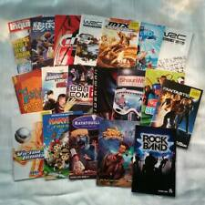 Playstation 2 Manual Bulk Lot of 18 PS2 Manuals and Instructions