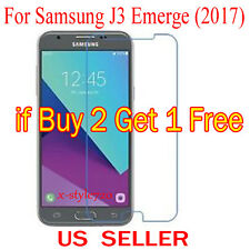 1x Clear Screen Protector Guard Cover Film For Samsung Galaxy J3 Emerge (2017)