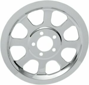 Drag Specialties 70T Rear Outer Pulley Insert, Chrome  1201-0518