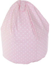 Large Pink Spots Bean Bag With Beans By Bean Lazy