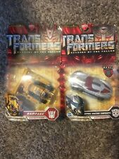 Transformers ROTF Strike Mission Sideswipe And Rampage Deluxe Class Set Hasbro