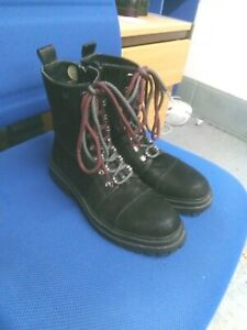Wrangler black zip ankle boots size 6/39