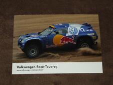 Tina THORNER - Volkswagen Touareg Dakar, Karte/card 10x15 cm