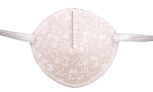 Tiny White Flowers - Medical Adult Eye Patch Soft Washable sold to NHS