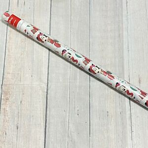 70sq ft Disney MINNIE Mouse Christmas Gift Wrap POLKA DOTS Wrapping Paper Roll