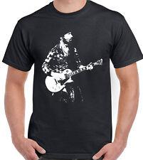 The Edge T-Shirt U2 Mens Guitar Electric Acoustic Amp Band