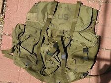1975 US Military Police LC-1 ALICE Nylon Field Pack Backpack~Vietnam ?