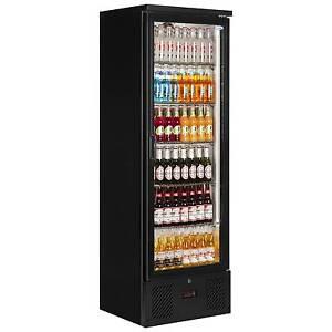 PD110T TALL ONE DOOR BACK BAR BEER WINE COOLER BOTTLE FRIDGE & FREE DELIVERY