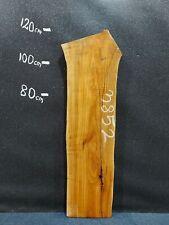 Waney Edge Live Edge Elm Slab Board Kiln Dried Hardwood 1160 x 300-370 x 50mm