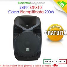 Cassa Attiva Altoparlante Attivo Impianto Audio Esterno Interno 200W Diffusore