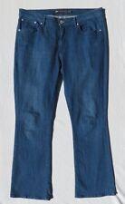 LEVIS Women's Blue Stretch Denim Demi Curve Classic Rise Boot Jeans size 16 33