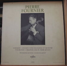 PIERRE FOURNIER/SCHUMANN/TCHAÏKOVSKY FRENCH LP COLUMBIA FCX 744