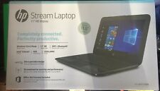 "NEW HP STREAM 11-AH117WM 11.6"" Laptop Intel Celeron N4000 4GB 32GB eMMC WIN10S"