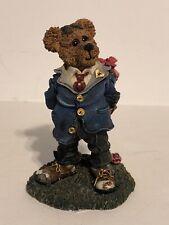 Boyds Bears Resin Franklin T Rosenbearg Bearing You Roses 227735Gcc