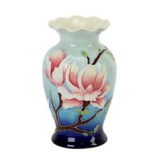 "Old Tupton ware Magnolia Bloom Fluted Top Vase 6""  TW7929  NEW"