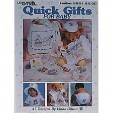 Quick Gifts For Baby Counted Cross Stitch Chart Pattern