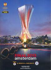 2013 UEFA Europa League Finale Chelsea v Benfica mint Programm