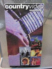 BUCK OWENS country videos VHS music TRACTORS Shania Twain FREEDY JOHNSTON 1995