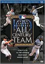 Major League Baseball - All Century Team (DVD, 2009)