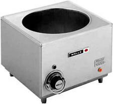 Wells Hw-10 11 Qt. Cook N' Hold Countertop Bain Marie / Food Warmer