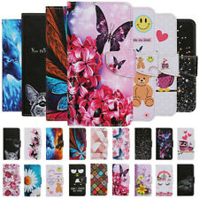 For Samsung A21S A31 A41 A51 A71 4G Painted Leather Wallet Flip Book Case Cover
