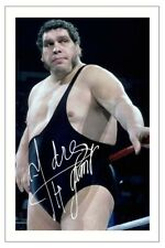 ANDRE THE GIANT Signed Autograph PHOTO Fan Gift Signature Print WWE WRESTLING