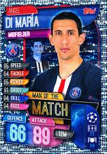 Match Attax Champions League 19/20, Di Maria (PSG Paris, Man of the Match)