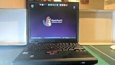 IBM ThinkPad 600X Fully working. puppy Linux. 384mb RAM