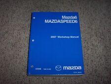 2007 Mazda6 Mazdaspeed6 Mazda 6 Service Repair Manual Sport Grand Touring 3.0 V6